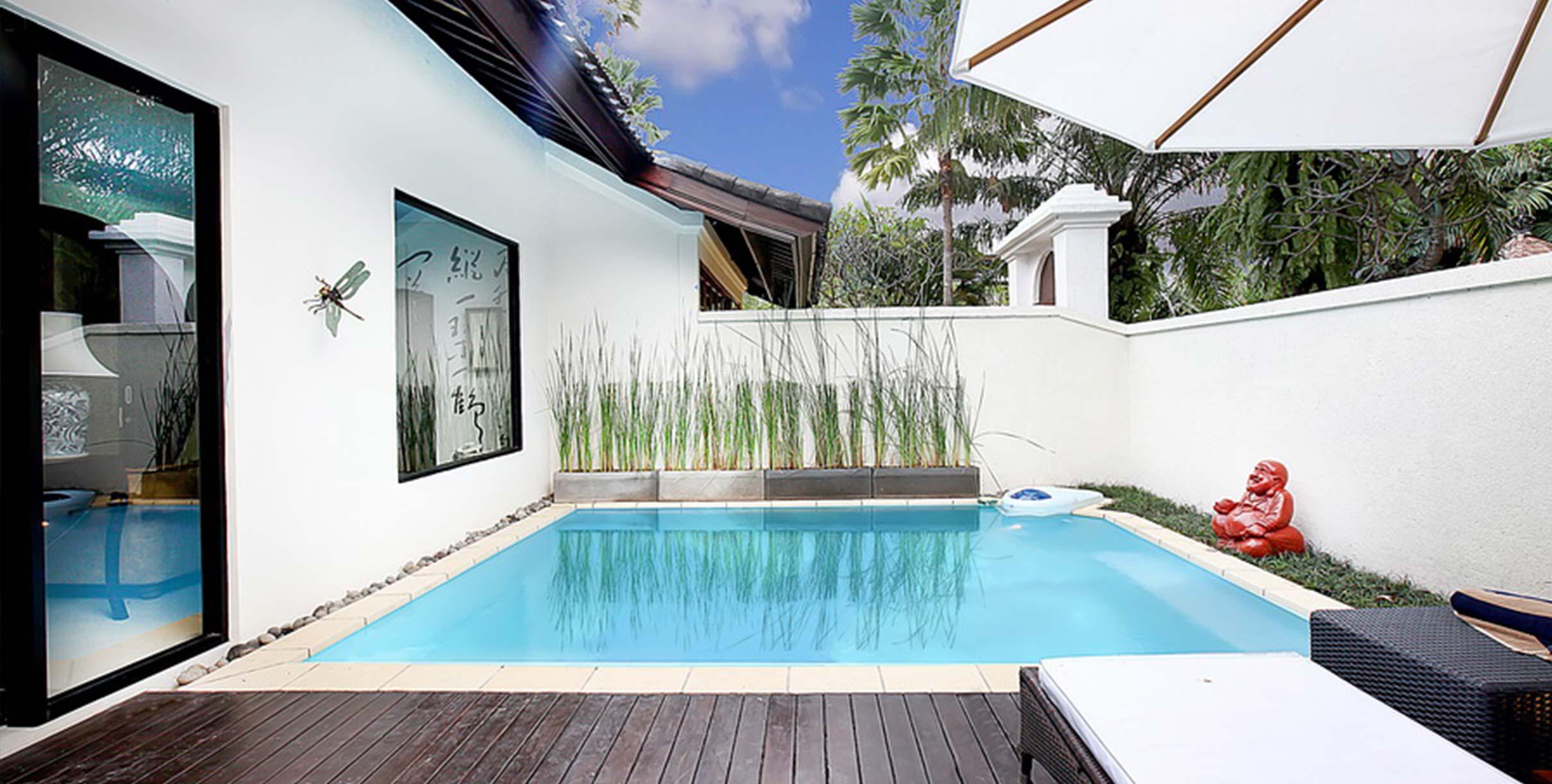 Razkošna vila na Baliju