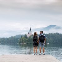 Bled-Castle-and-Church-Lake-Bled-Slovenia1